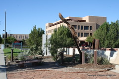 9-11-01 Memorial in Belen, New Mexico (Vladimir-911) Tags: county new newmexico valencia digital canon mexico eos rebel memorial 911 9 11 september tribute xs 11th nm belen september11th 91101 nmex