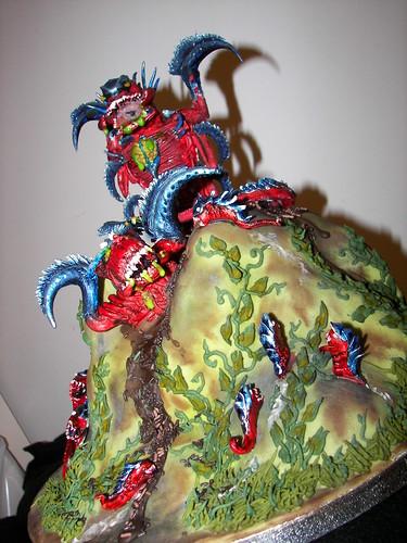 Warhammer 40k Tyrannid Cake 2