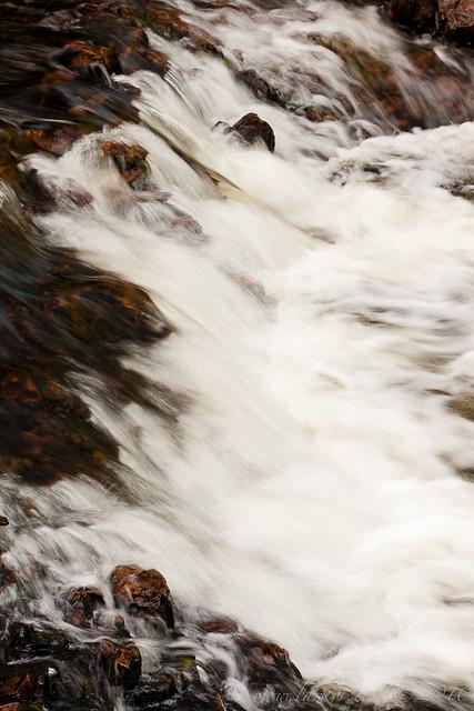 Rapids, Rainbow Falls Provincial Park, Ontario, 2010