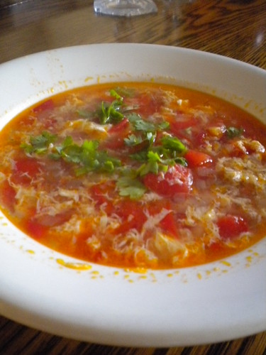 Organic Orchestra: Tomato Egg Drop Soup