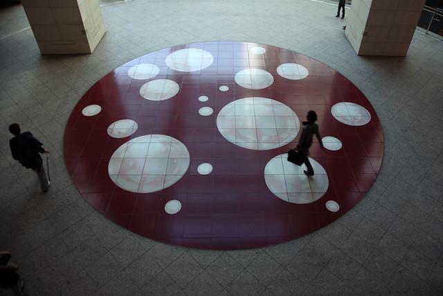 広場の円形