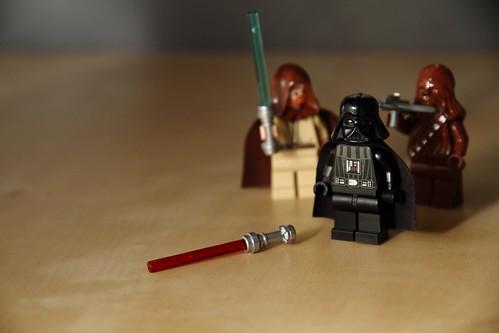 Darth Vader # Obi-Wan Kenobi # Chewbacca