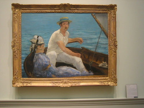 Boating, 1874, Édouard Manet  _8396