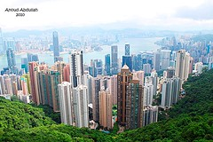 ( Anoud Abdullah AlHabib) Tags: island all towers right hong kong kowlon peack reerved