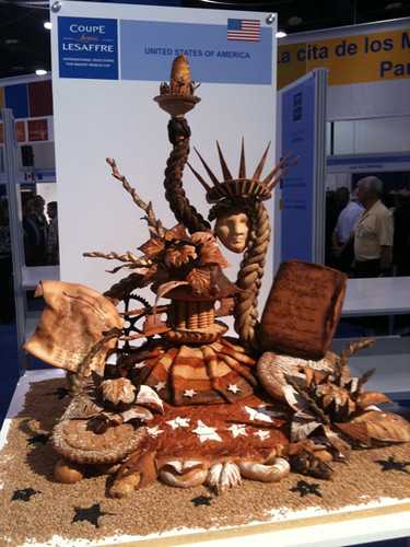 Bread Sculpture, Harry Peemoeller, Team USA