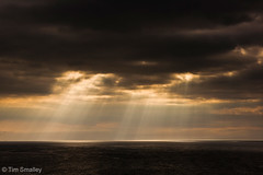 God rays over the sea (TimSmalley) Tags: ocean sea seascape clouds cornwall atlantic botallack godrays