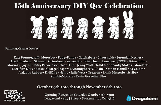 15th Anniversary DIY Qee Celebration at Dragatomi