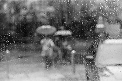 Monsoon moods (Bhargab) Tags: bw abstract painting 50mm d76 monsoon kodaktrix rains selfdeveloped nikonfm