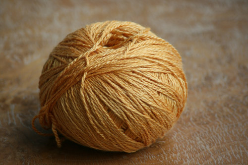 Fyberspates Scrumptious 4 ply in golden pumpkin