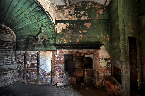 Victoria Tower Interior,Salisbury Dock, Liverpool colour