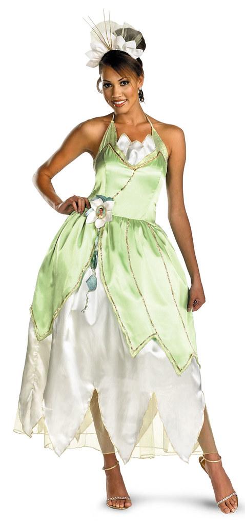 High Quality Adult Princess Tiana Costume
