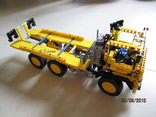 Lego Technic 8264 Hauler Flatbed Truck Sd Tuner