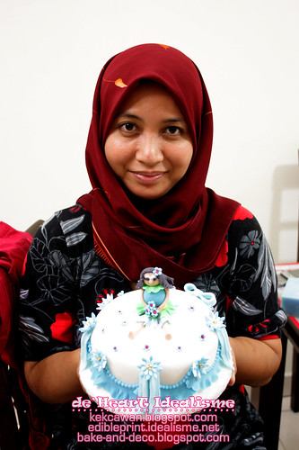 Batch 7 Ogos: Basic Fondant Cake