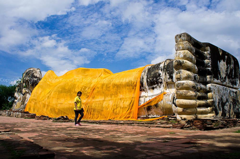Wat Lokayasutha @ Ayutthaya, Thailand