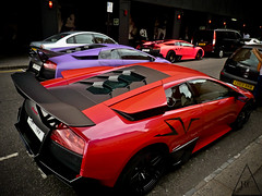 Never Two Without Three . (*EXPLORED*) (Benoit CHOW) Tags: pink blue b red 3 black paris color london car sport yellow photoshop canon lumix photography three photo crazy nice nikon dubai bc purple geneva cannes turquoise c uae monaco special exotic chrome coche lp abu dhabi edition lamborghini ultra supercar sv spotting dmc matte qatar mega combo roadster murcielago lightroom 670 ajman ksa arabs sjh qtr cs5 worldcars superveloce fz38 lp6704 sarajah srajah