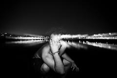 Salvaje. (SebastianDelgado) Tags: bw india white lake black blanco contrast lago rebel noche bokeh negro contraste ligth mascara 1855 indore reflexion serie nigth serial efect salvaje 1000d