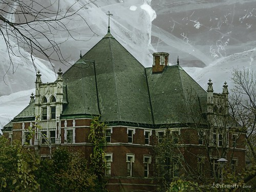 Norwich State Hospital Admin Building - Creepified!