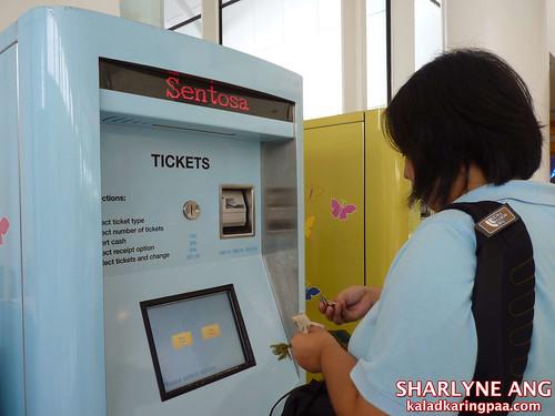 Ticket Machine at the Vivo City