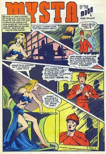 Planet Comics 41 - Mysta (March 1946) 00