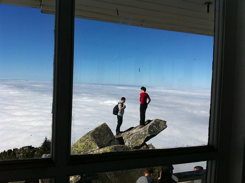 at Mt. Pilchuck Lookout