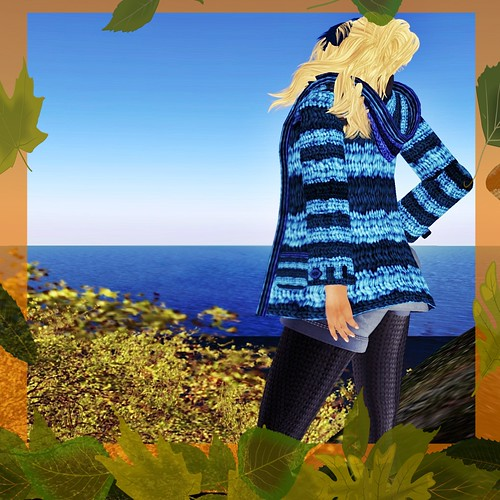 A&A Fashion Fall Coat Blue coming soon