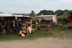 Verkaufszelte 2. Herbstmarkt bei den Wikinger Häuser in Haithabu WHH - 03-10-2010