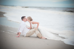 Gary and Amanda's Beautiful Beach Wedding (Matt_Hollifield_Photography) Tags: ocean camera wedding beach beautiful nikon northcarolina fullframe nikkor fx lenses topsailisland d700 8514afd