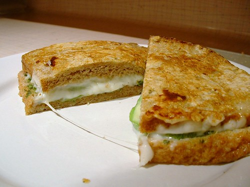 Zucchini Grilled Cheese 4