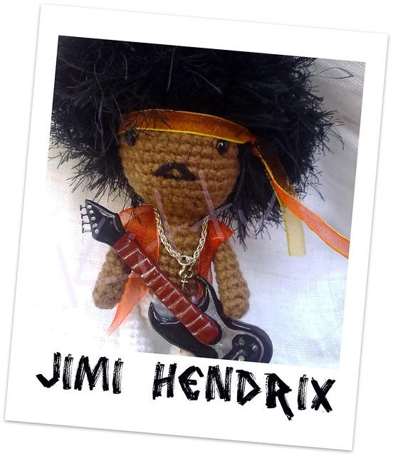Jimi Hendrix Amigurumi
