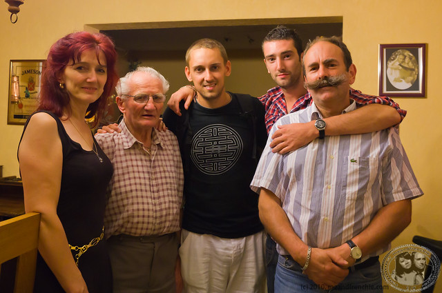 Dad's side: Aunt, Grandfather, Boris, Cousin, Uncle