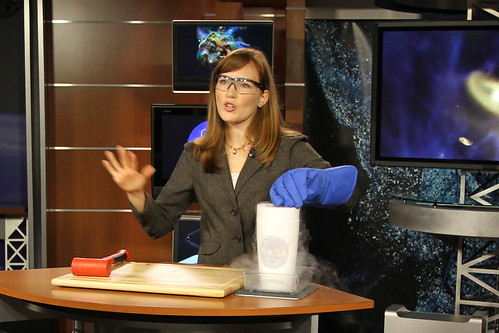 Webb Telescope Interviews with Amber Straughn