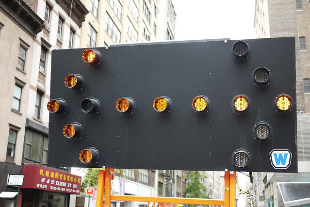 digital or analog arrow system? #walkingtoworktoday