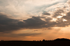 Little earth, big sky (jeroenf) Tags: sky cloud landscape belgium canonef2470mmf28lusm sunray vlaamsbrabant linter canoneos50d landscapesdreams