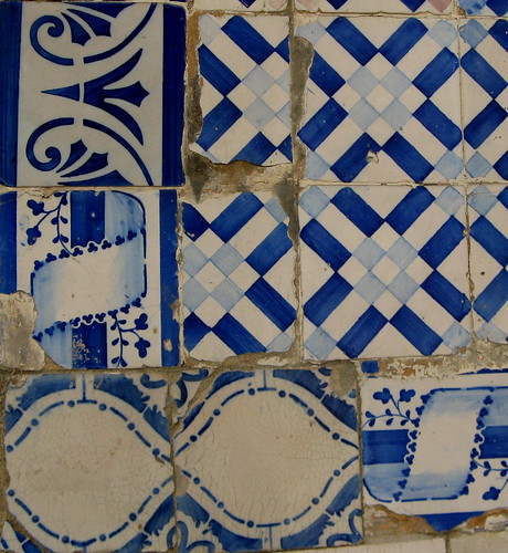 Improviso no azulejo 4 . para a Loca-Bandoca