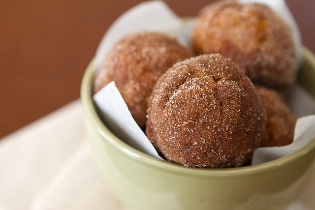 Baked Pumpkin Spice Donut Holes | The Craving Chronicles