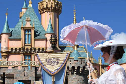 Mary Poppins & Sleeping Beauty Castle...