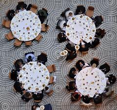 Lunch is served (Brandon Doran) Tags: sanfrancisco circle tile table geotagged lunch hotel floor embarcadero hyatt dining fav10 dailyshoot dsc1234 sfhyattregency 18105mmf3556 hyattsanfranciscosf ds327 geo:lat=3779476734 geo:lon=12239533502