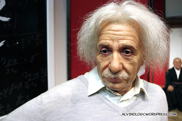 Another picture of Albert Einstein
