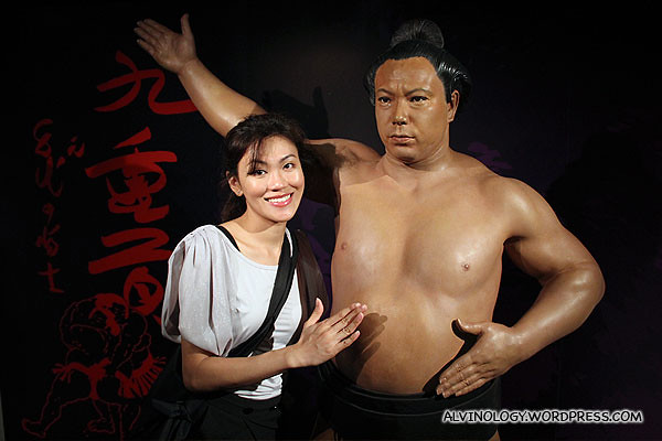 Famous sumo wrestler, Chiyonofuji Mitsugu (千代の富士 貢)