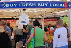 Falls Church Farmers' Market (by: George Brett, creative commons license)