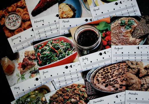 A Year to Eat Freely: 2011 Allergy-Friendly Recipe Calendar - all the pages!