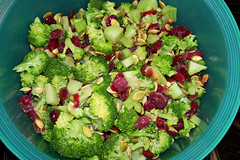 Broccoli Salad for Thanksgiving