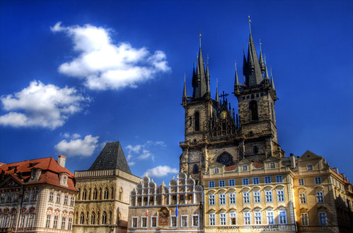 Tyn church. Prague. Iglesia de Tyn. Praga