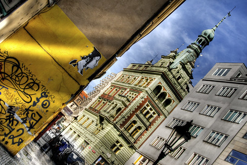 Jewish quarter detail. Prague. Detalle del barrio judío. Praga
