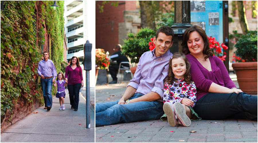 Kuno Family Portraits | Pioneer Square | Seattle