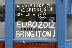 Always look on the bright side of life - British Lion, Hackney Road London E2