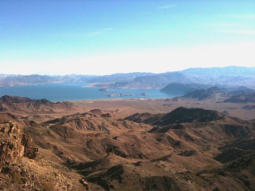 Lake Mead from Black Mtn.