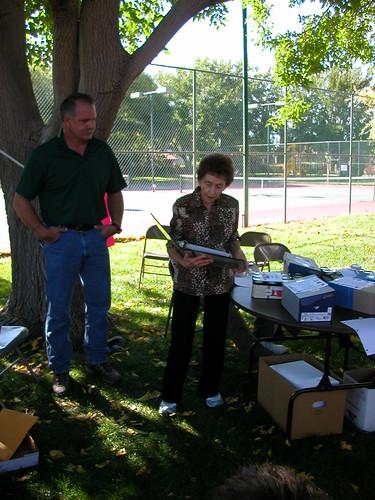 Oct 2 2010 Greg Bartholomew, Anna Lee Chamberlain