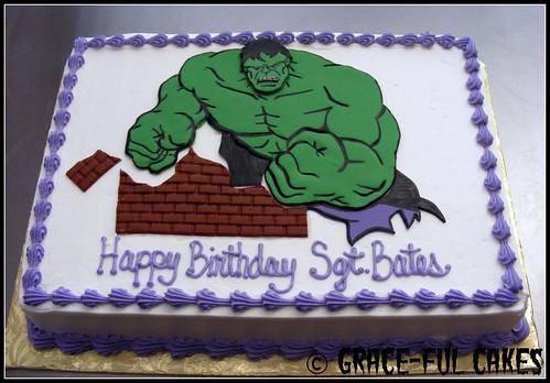 Hulk Cake 1-3