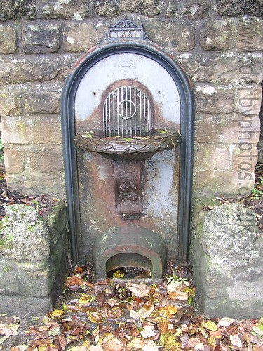 Andrew Handyside Drinking Fountain in Matlock Bath.